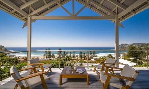beachfront accommodation nsw